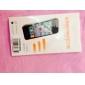 DSB ® Premium High Penetração Touchscreen protetor de tela com precisão limpeza pano de microfibra para iPhone 5/5S/5C (3 Unidades)