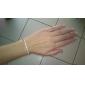 Shixin® European Pearl 23cm Women's White Pearl Strand Bracelet(1 Pc)