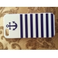 Anchor Naval Stripe Pattern Hard Cases for iPhone 5/5S iPhone Cases