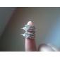 우아한 모조 다이아몬드 스터드 귀걸이 2012 신상 여성용 E523