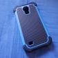 Pour Samsung Galaxy Coque Antichoc Coque Coque Arrière Coque Armure Polycarbonate pour Samsung S4 Mini