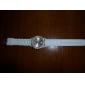 Жен. Модные часы Наручные часы Нарядные часы Кварцевый Позолоченное розовым золотом силиконовый Группа Синий Красный