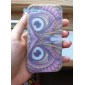Nightingale Pattern Silicone Soft Case for iPhone4/4S