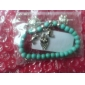lureme®vintage estilo boêmio pulseira elefante coruja turquesa