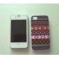 фиолетовый полоса шаблон защитный жесткий чехол для iphone 4 / 4s iphone случаях