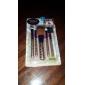 5 Conjuntos de pincel Pêlo Sintético Profissional Plástico Rosto Lábios