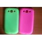 Rubber Skin Case for Samsung Galaxy S3 i9300(Assorted Color)