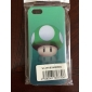 Mushroom Head  Pattern Plastic Back Case for iPhone 5/5S