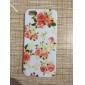 용 아이폰5케이스 케이스 커버 패턴 뒷면 커버 케이스 꽃장식 소프트 실리콘 용 iPhone SE/5s iPhone 5