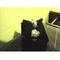 Mulheres Relógio de Moda Quartz Plastic Banda Heart Shape / pulseira Preta / Branco / Rosa / Roxa / Amarelo