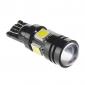 T10 Automatique Blanc froid 7W SMD 5050 6000Lumières pour tableau de bord Lampe de lecture Feux de position latéraux Feux stop Lampe de