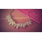 Mlle érable rose®alloy collier de motif de feuille