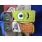 아이폰 5/5S를위한 눈 색깔의 그림 패턴 프레임 PC 하드 케이스