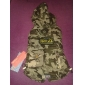 Fashion Casual Camouflage  Cold Feather Padded Cotton Jacket for Pet Dogs(Assorted Size)