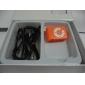 클립 오렌지와 TF 카드 판독기 MP3 플레이어 가방 모양