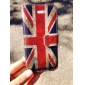 Le Vintage PU Case Union Jack de signatures complet du corps avec fente pour carte et stand pour iPhone 5C