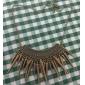 lureme®gothic панк стиль винтаж бронзовый шип кисточка колье колье