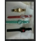 유니섹스 터치 스크린 LED 디지털 방식으로 실리콘 악대 손목 시계 (분류 된 색깔)