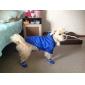 개 레인 코트 블루 퍼플 강아지 의류 여름 모든계절/가을 솔리드 캐쥬얼/데일리
