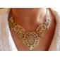 Europe and Japan and South Korea Hot retro luxury hollow carved palace ladies fake collar lace short necklace N997