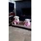 Собака Футболка Одежда для собак На каждый день Звезды Розовый Костюм Для домашних животных