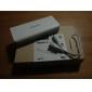 Banque d'alimentation batterie externe universelle pour iPhone 6/6 romoss plus / 5 / 5s / samsung S4 / S5 / Note 2 (blanc)