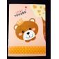 серии мультфильмов медведь маленький ноутбук (случайный цвет)
