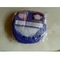 cesta de la ropa de malla blanco (colores aleatorios)
