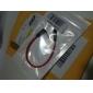 0.2m 0.66ft 3,5 мм стерео между мужчинами м / м аудиоразъем Окс кабеля