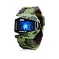 SKMEI® Men's Watch Camouflage Military Aircraft LED Multi-Function Cool Watch Unique Watch Fashion Watch