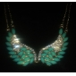 여성 윙 사치 패션 칼라 크리스탈 모조 다이아몬드 합금 칼라 , 파티 일상