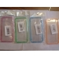 Multicolor Transparent Case for iPhone 5/5S (Assorted Colors)