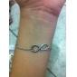 Bracelet Chaînes & Bracelets Alliage Infini Soirée / Quotidien / Décontracté Bijoux Cadeau Argent