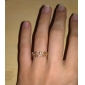 Ring Party / Daily / Casual Jewelry Alloy Women Band Rings Gold