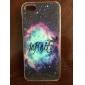 синий шаблон звездное небо дело на iPhone 5 / 5s