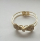 Crystal Full bowknot Bangle Bracelet