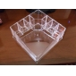 Acrylic Transparent Complex Quadrate Cosmetics Storage Stand Makeup Brush Pot Cosmetic Organizer