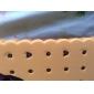 아이폰 5 / 5 초에 대한 3 차원 샌드위치 비스킷 디자인 실리콘 고무 케이스 (모듬 색상)