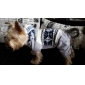 Warm Snowflakes Pattern Coat with Hoodie Pants for Pets Dogs (Assorted Sizes)