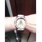 Mulheres Relógio de Moda imitação de diamante Quartzo PU Banda Torre Eiffel Casual Preta Branco Vermelho Marrom Rose