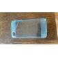 TPU 소프트 아이폰 4/4S (분류 된 색깔)를위한 먼지 마개 뒤 케이스와 쉘