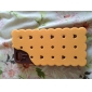 3D Sandwich Biscuit Design Silicon Rubber Case for iPhone5/5s(Assorted Colors)