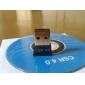 adaptador usb wifi placa de rede sem fio mini bluetooth csr v4.0 usb dongle adapter