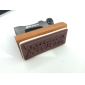 costura estilo máquina padrão feliz aniversário mini-sinete