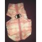 Chat Chien Manteaux Gilet Vêtements pour Chien Respirable Garder au chaud Nœud papillon Jaune Rouge Rose Vert Bleu Rose Costume Pour les