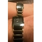 Masculino / Mulheres / Casal Relógio Elegante Quartz Lega Banda Prata / Dourada marca-