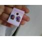 Boucles d'oreille goujon USA Acier inoxydable Strass Alliage Drapeau Bijoux Pour Quotidien