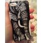 Elephant Pattern Hard Case para iPhone 5/5S