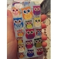Cartoon Design Lovely Owl Pattern Hard Case for iPhone 5/5S