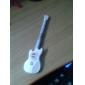Guitar Пластиковые чернилами черного гелевая ручка (случайный цвет)